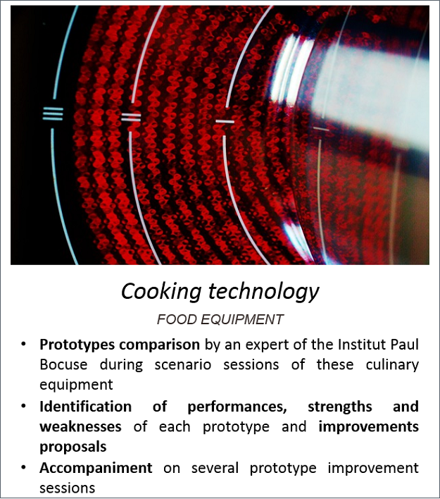 Exemple technologie cuisson