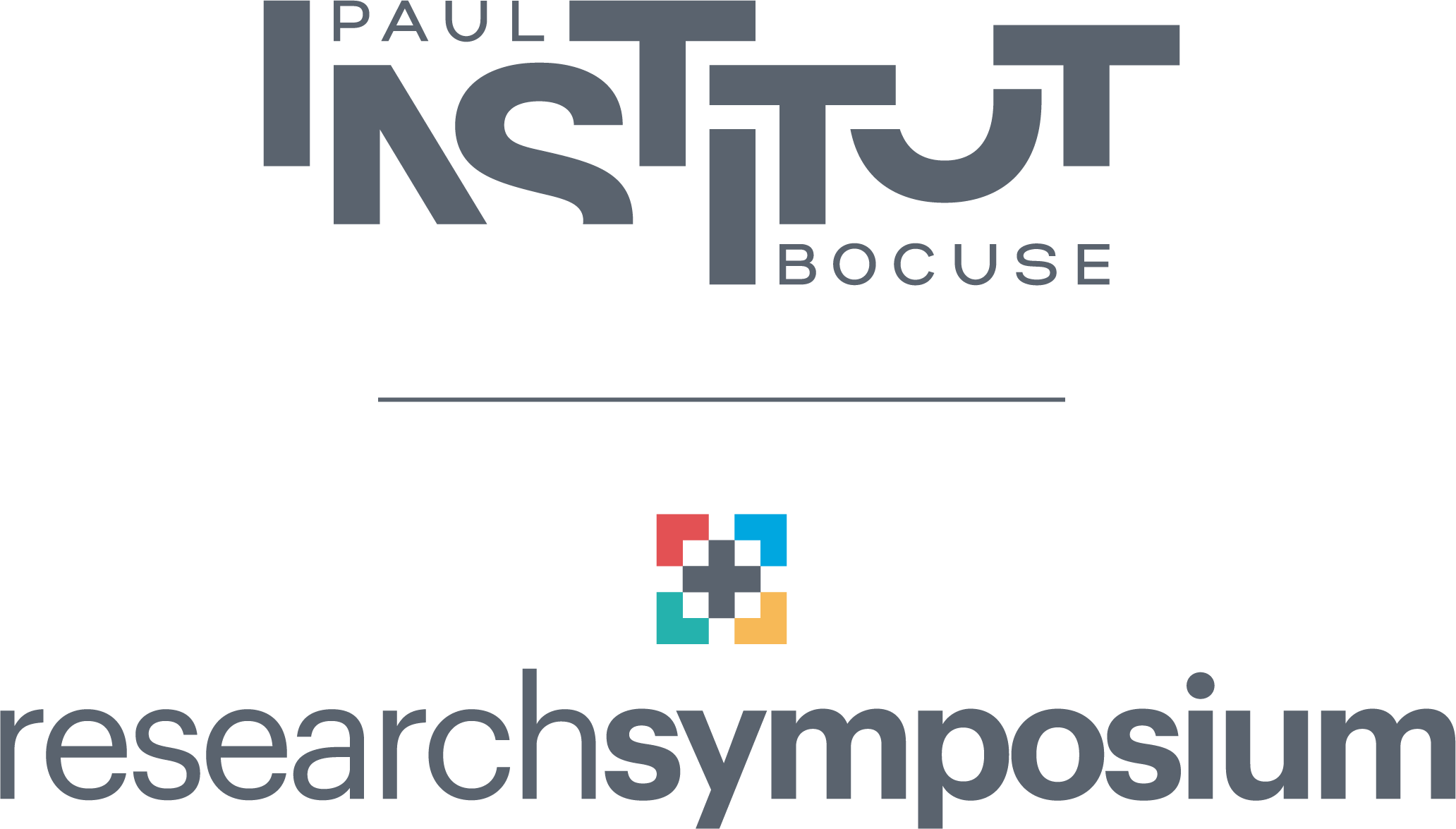 Logo research symposium Institut paul bocuse research center